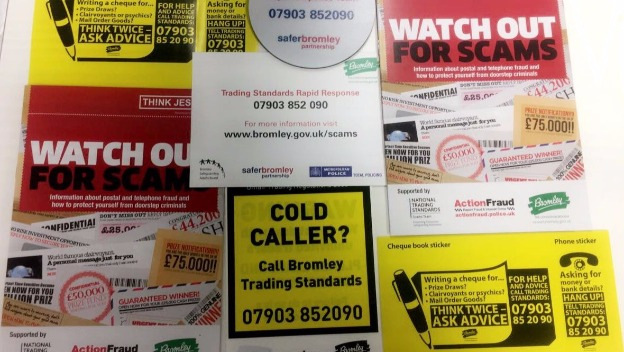 Home Instead Shoreham, Petts Wood & Longfield receive scams training from Bromley Trading Standards