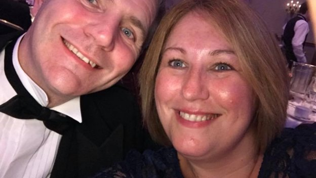 Directors Dawn and Russell attend the Cheshire Police Federation and Chief Constable's Charity Ball
