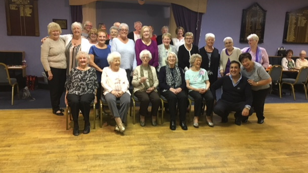 We Bring Joy to Clydebank Over 60s Club