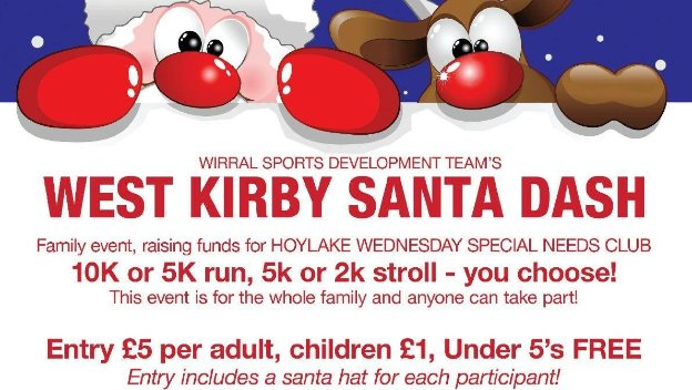 Home Instead Wirral are delighted to sponsor the West Kirby Santa Dash again.