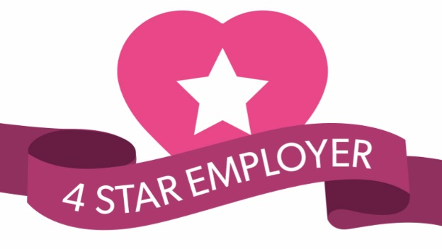 Great to be voted best employer in care