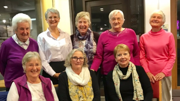 Wives and Friends group raise funds for Memory Cafe.
