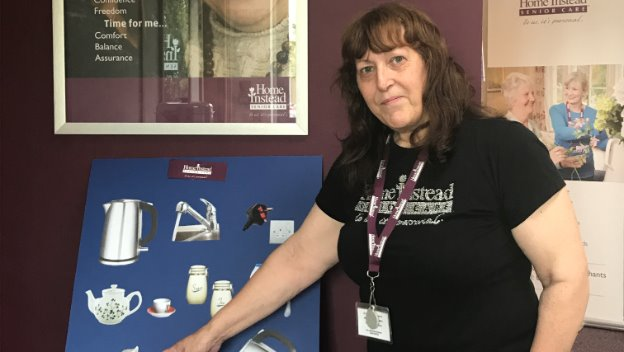 Are your staff dementia friendly? How manys steps are there to make a cup of tea?