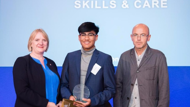 Jay Thapa wins Team London Award 2017