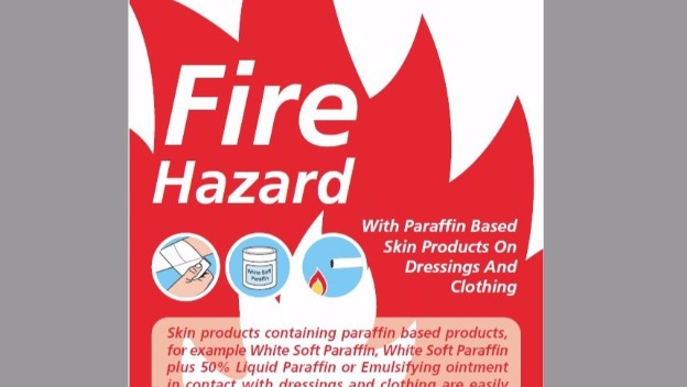 Additional fire risks for those using emollient creams