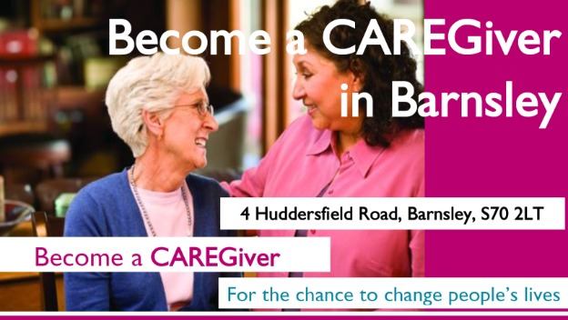 Become a CAREGiver in Barnsley