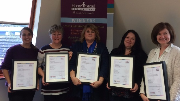 Latest graduates of our Alzheimer's training