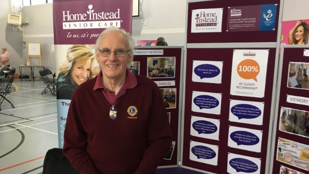 Supporting Fareham MP's Older Persons Fair