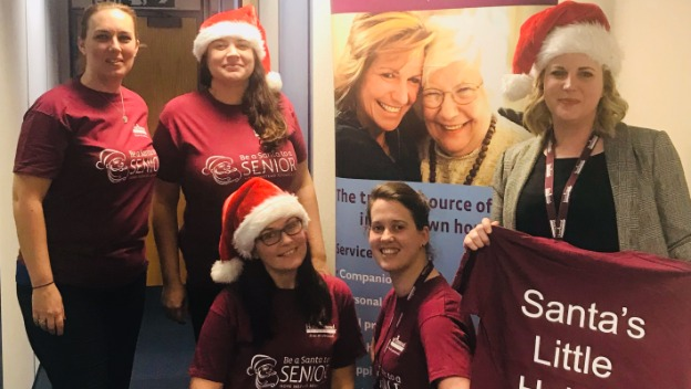 Be a Santa to a Senior Launches and pledges to deliver presents to the elderly care wards in Poole Hospital!!