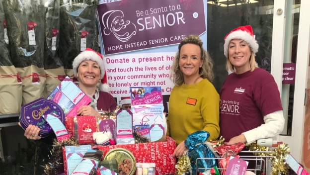 Altrincham and Sale are getting into the festive spirit with Be a Santa to a Senior