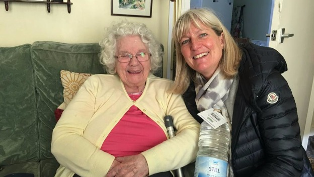 Home Instead delivers Water to Elderly Residents
