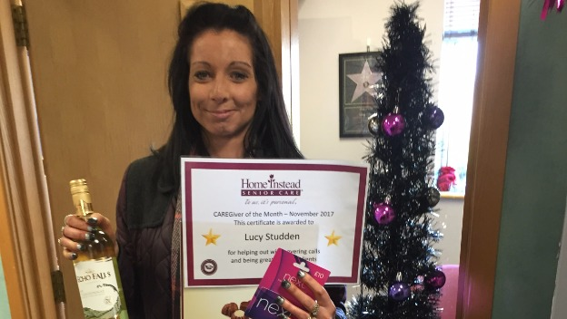 CAREGiver of the Month - November 2017 - Lucy Studden