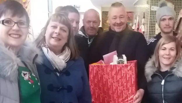 Home Instead Chester spreads Christmas Cheer to Homeless and Needy
