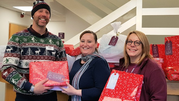 Oldham Care Company Spreads Festive Cheer with Community Gifts