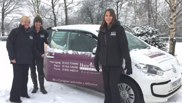 It's Snow Business As Usual for Caring Team
