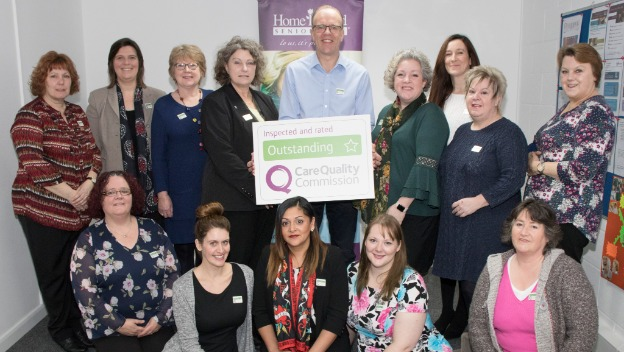 Suffolk Home Care Service Rated Outstanding by CQC