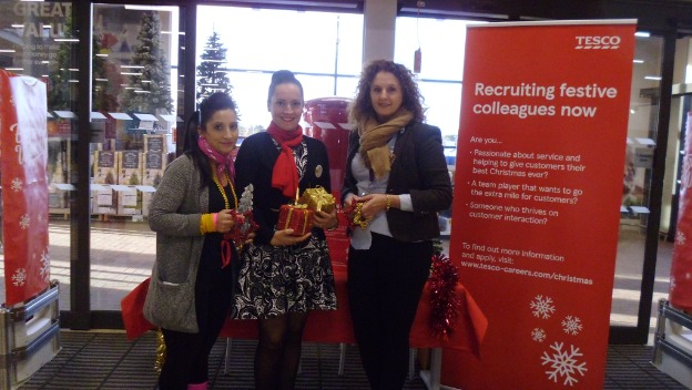 Home Instead North Oxfordshire celebrate the success of their be a Santa to a Senior campaign