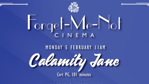 Dementia friendly event - Forget Me Not Cinema