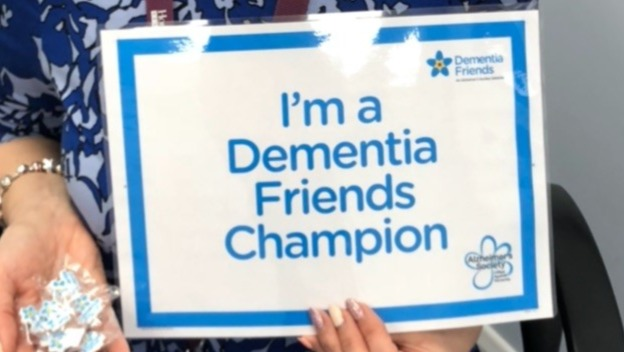Our new Dementia Champion!
