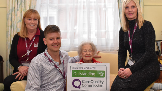 Home Instead rated Outstanding by CQC