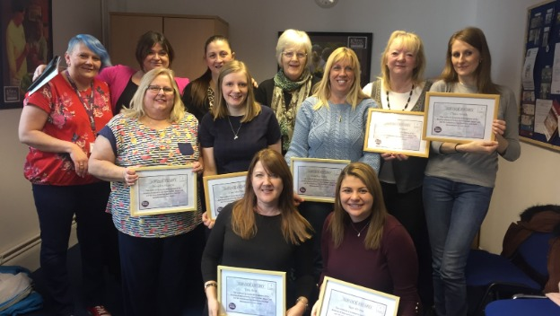 Service Awards for February 2018
