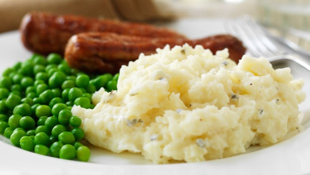 Sausage, mash and peas this Thursday at the Supper Club