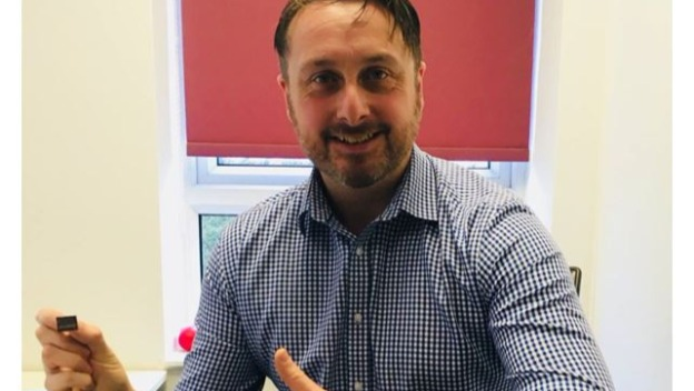 Andy Celebrates 3 Years Service