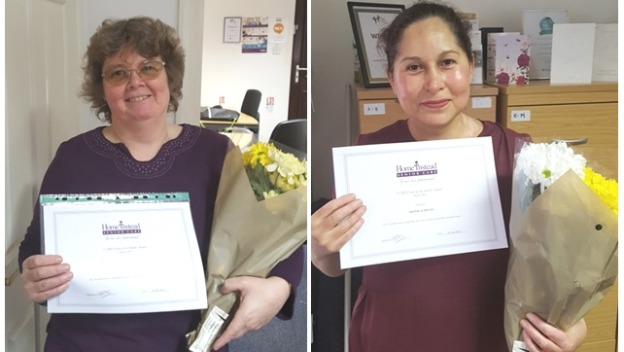 Our CAREGivers of the Month March 2018