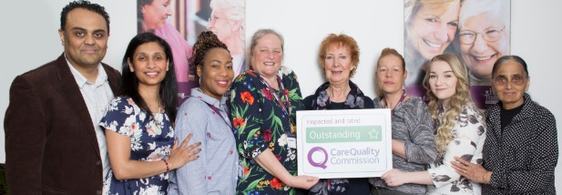 Outstanding rating for Croydon's 'kindness and compassion'