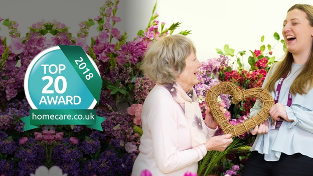 We are one of the Top 20 Home Care providers in the South West