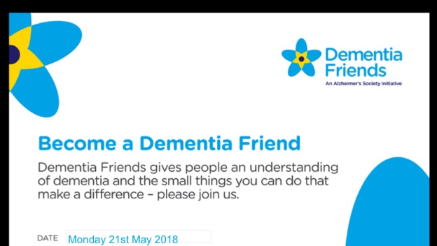 Dementia Friends Sessions