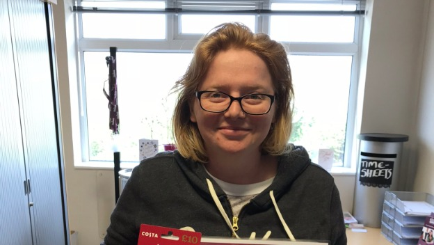 CAREGiver of the Month - April 2018 - Kirsty Crowther