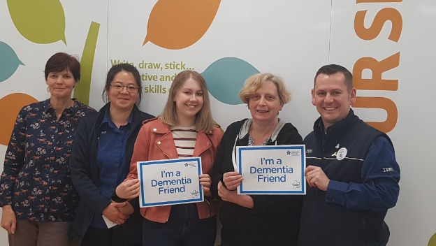 Home Instead North Oxfordshire provide Dementia friends Information sessions to Tesco staff