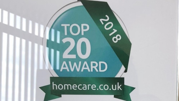 We\'re a Top 20 Home Care Provider