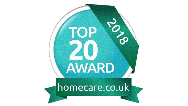 Home Instead Senior Care, in the top 20 for the West Midlands Homecare Awards