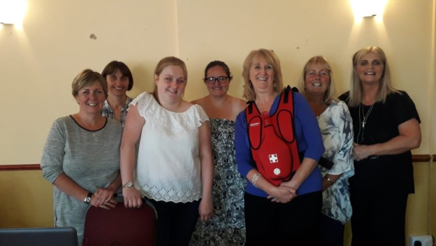 Chester and Ellesmere Port Office provides further Training to CAREGivers