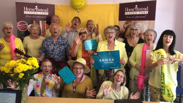 Home Instead launches campaign to get #1000voices singing for dementia