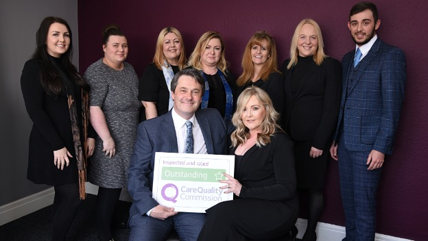Proud to be an Outstanding Care company