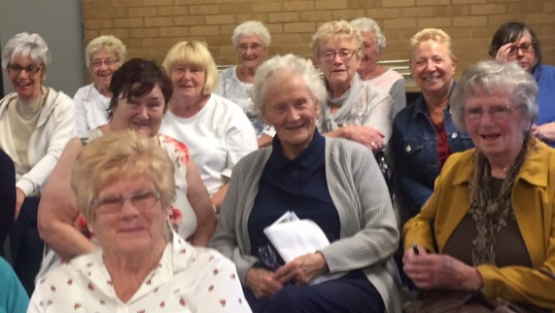 Scams Talk a hit at Barry Cadoxton WI