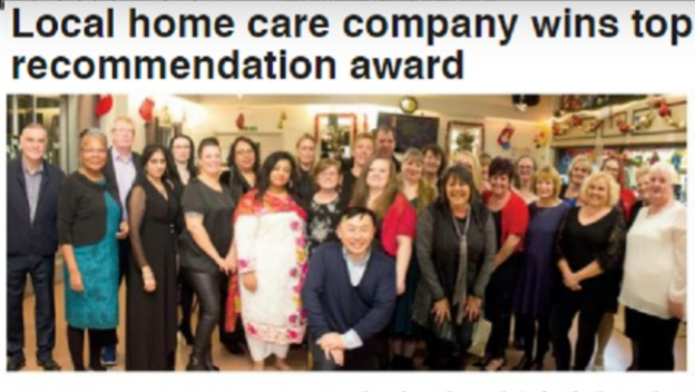 Congratulations to our office winning the top recommended award!