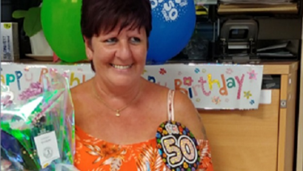 Happy 50th Birthday to our lovely Care Coordinator.