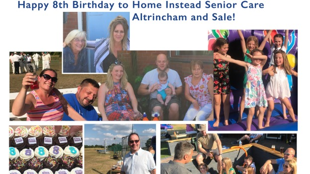 Happy 8th Birthday to Home Instead Senior Care Altrincham and Sale!