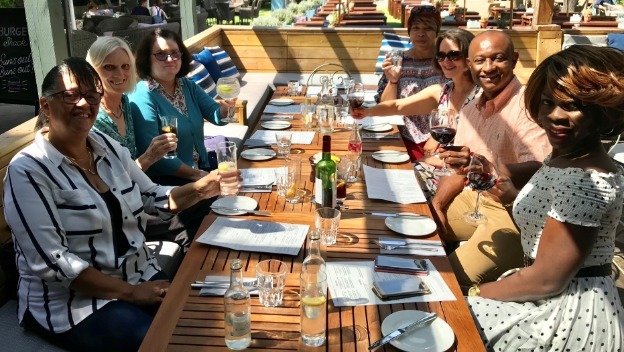 Long service lunch for Homeinstead Wandsworth\'s Caregivers