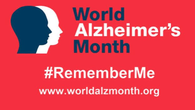 World Alzheimers Day 21 Sept
