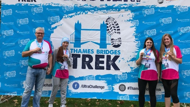 Home Instead Westminster does the Thames Bridge Trek to raise funds for Dementia UK