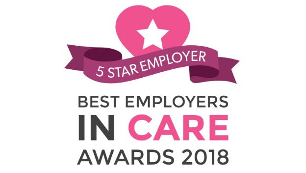 5 Star Award – Best Employers in Care