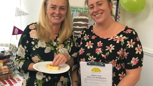 Macmillan coffee morning and helping Wirral Hospice St John\'s