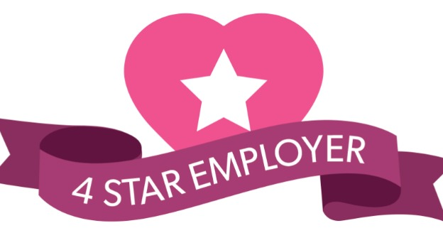 We\'re a 4 Star Employer!