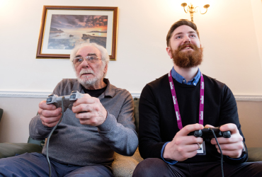 Using the Internet and Technology with those living with dementia