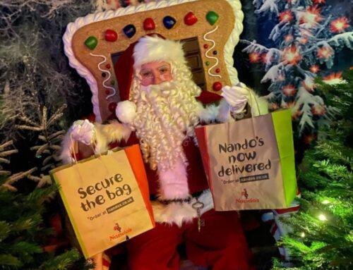 Home Instead East Hertfordshire's Socially Distanced Santa